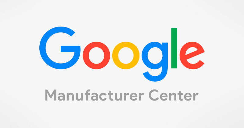 Google Manufacturer Center